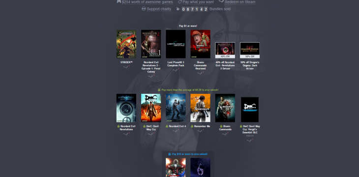 Capcom Humble-Bundle mit Resident Evil und Remember Me gestartet