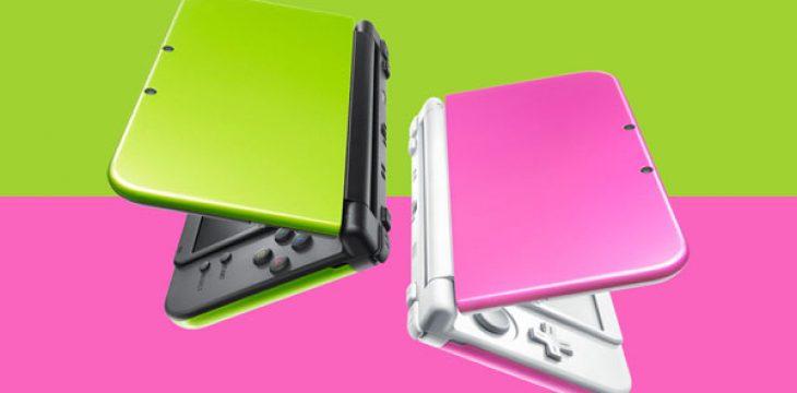 New 3DS XL in Limette-Schwarz und Pink-Weiß für Japan angekündigt!