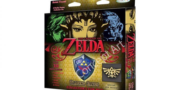 Erstes Trading Card Game zu The Legend of Zelda gelistet