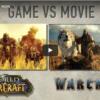 Vergleichsvideo Warcraft Film mit WoW-Grafik Machinima Version