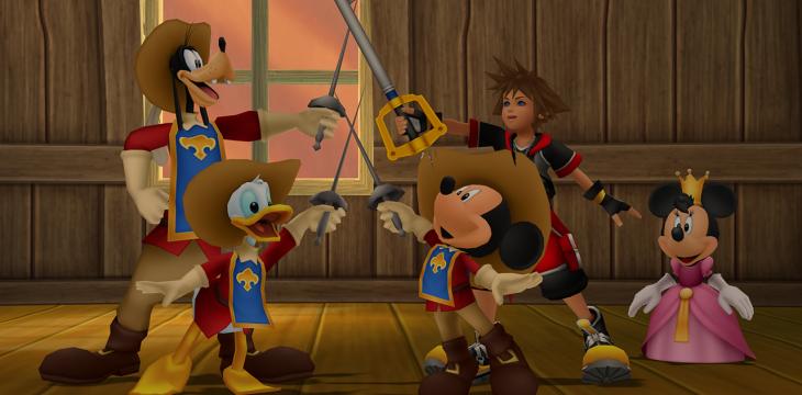 Eine Kingdom Hearts Kollektion für die PS4 ist nicht ausgeschlossen