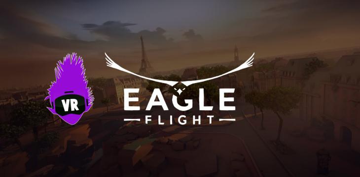 EAGLE FLIGHT lässt dich im Team gegen andere Spieler in der VR fliegen