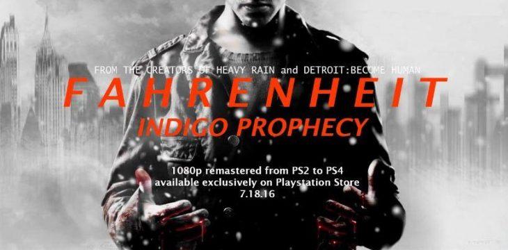 Fahrenheit: Indigo Prophecy Remake kommt im Juli auf die PS4