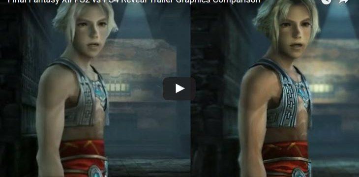 Final Fantasy XII Remake im Videovergleich mit PS2 Version