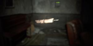 Der abgebrochene Finger einer Schaufensterpuppe ist wohl das größte Rätsel aus der RE7 Demo.